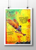 Affiche festival glisse | dany vin