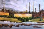 complexe industriel | Claudie PETRISSANS