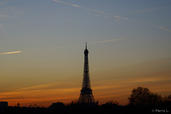 Paris Sunset | L. Pierre