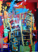 Les chaises -114 x162 cm | sarah simon
