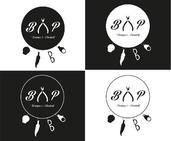 Déclinaison du logo en noir et blanc | Christelle Leroy