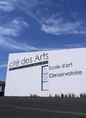 Signalétique de la Cité des Arts | Mickaël Vivier