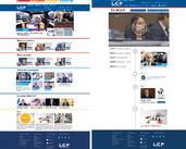 Maquette de la refonte du site LCP assemblée Nationale (agence Sisso) | amandine panhaleux