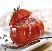 Tomates farcies crues | Michel Perreau