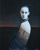 Femme au Tulle (41 x 33) | Jean-Jacques Lantourne
