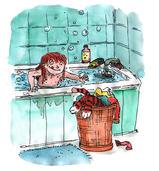 Get a bath ! | alice Morentorn