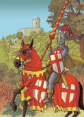 Chevalier au Moyen-Age | Arnaud Jouffroy