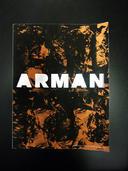Première de couverture d'un livre d'artiste sur Arman | Nabil Amara