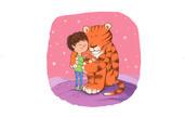 Tigre et enfant | Eve Grosset