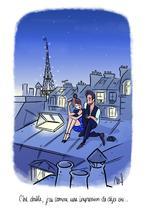 Cliché sur les toits de Paris. | Magalie Foutrier