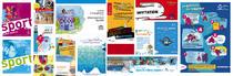 Brochures, dépliants, affiches... | karine guelpa bonaro