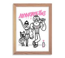 ANNABELLE - AFFICHETTE 30x40 | DUME Illustration