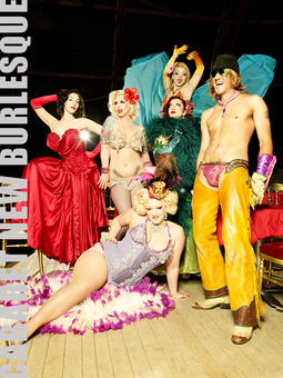 Cabaret New Burlesque | eve saint-ramon