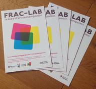 Plaquette présentation Frac-Lab (Frac Bourgogne) | Gwenaëlle Serre