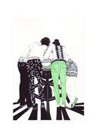 BERCEAU | Encre et peinture sur papier 200g | Sylvie Faur