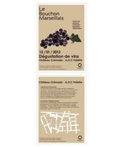 Flyer Bouchon Marseillais | Sarah Di Mascio