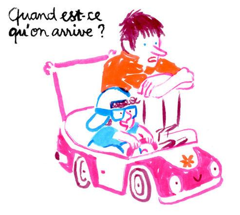 En voiture avec bébé | Laurent Simon