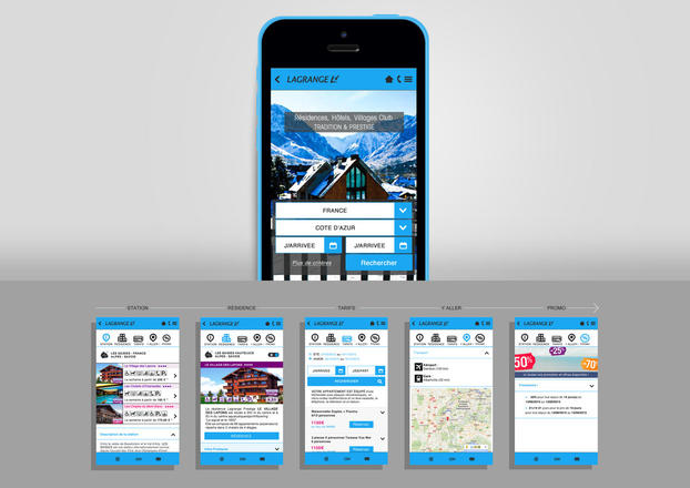 Design site mobile | Marine De Araujo