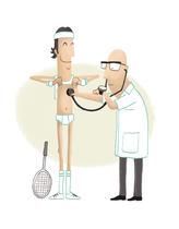 Docteur sport Proposition pour un journal médical | marina le ray