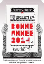 Perrine C. design // Carte de voeux / 2014 | Perrine Cras-Jacumin