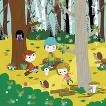 la forêt | isabelle chauvet