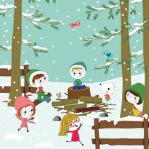 La neige | isabelle chauvet