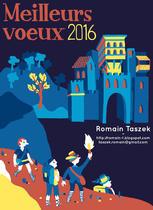 Carte de voeux 2016 | Romain Taszek
