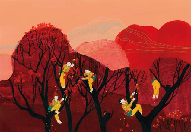 Livreur de pollen | Julie Bernard