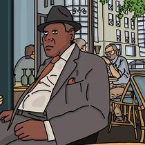 Il est en terrasse - A. Meurant | Antoine Meurant