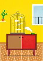 Intérieur à l'oiseau mécanique | Tony Durand