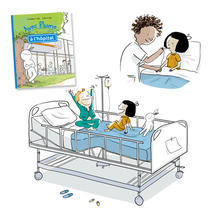 """Avec Plume à l'hôpital"" | zelda zonk"