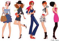 Fashion illustration | Solène Debiès