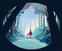 Dans la forêt | Eliette Scherer