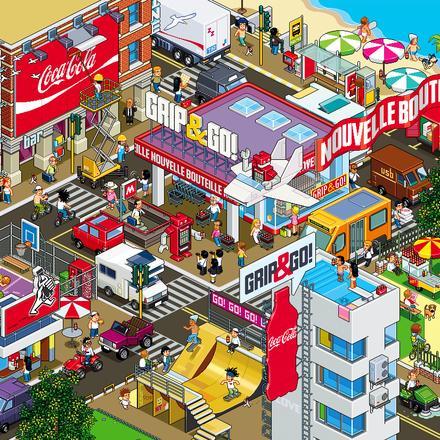 coke city | Totto Renna