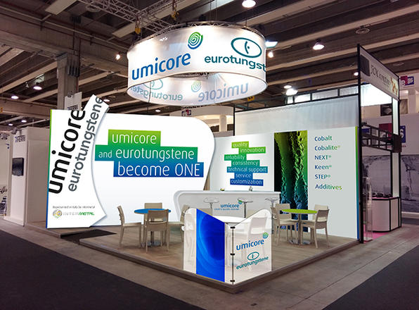 Stand Pro UMICORE & EUROTUNGSTENE   Severine Philippe