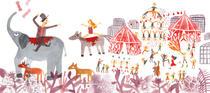 L'arrivée du cirque | Julie Maurice