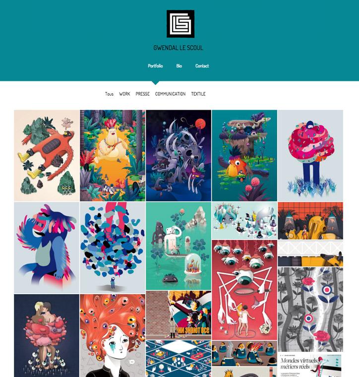 Modèle de portfolio Zoom 2016 - Gwendal Le Scoul