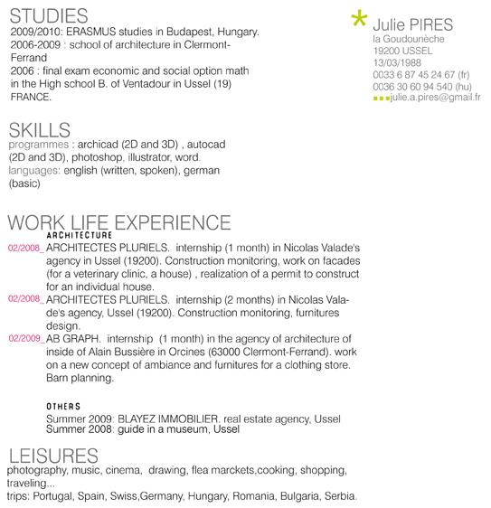 Resume wiktionary