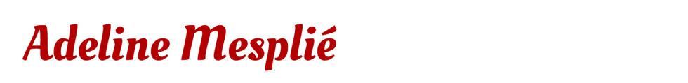 Adeline Mesplié :  : Ultra-book