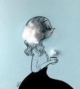 Un nuage de lait