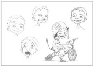 """""""Little biker"""""""