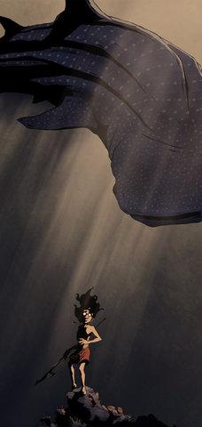 """Maram and whale-shark"""