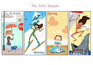 The Girl's season