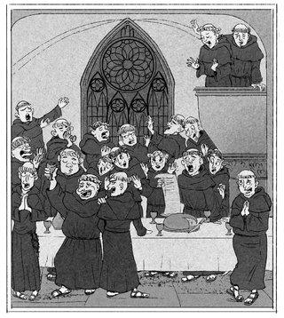 Le choeur du Monastère