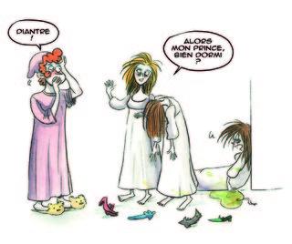 Le réveil des princesses