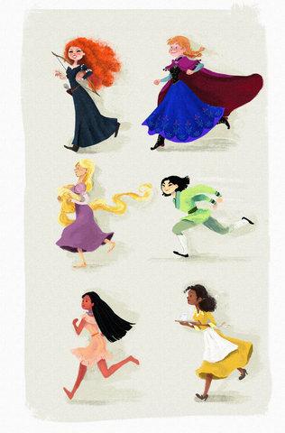 Running Disney Princess