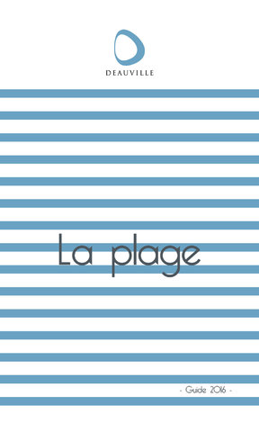 Guide Plage 2016