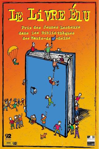 Affiche Le livre élu