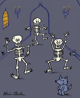 Drôles de squelettes