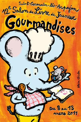 Affiche Gourmandises
